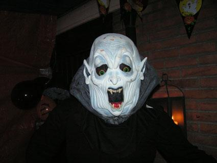 Uncle fester responsible for the music at the party we danced a lot